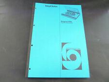 Original Service Manual Bang & Olufsen Beogram 6000