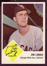1963 FLEER JIM LANDIS  CARD NO:10 JL10 NEAR MINT CONDITION