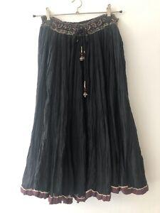 Vintage Phool 1970's Indian Gauze Bohemian Skirt one size