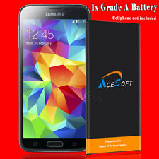 Upgraded 6520mAh Extended Slim Battery Fits For Samsung Galaxy S5 i9600 SM-G900A