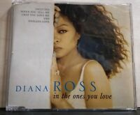 DIANA ROSS - IN THE ONES YOU LOVE -WHEN YOU TELL ME THAT YOU LOVE ME . cds E.S.