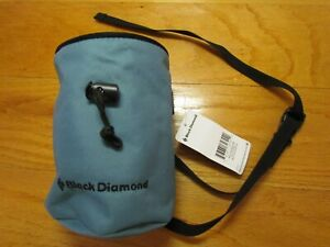 Black Diamond Mojo Zip Chalk Bag Large Blue