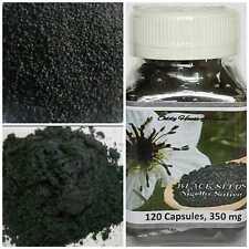NIGELLA SATIVA BLACK SEEDS / HABBATUS SAUDA CAPSULES / POWDER