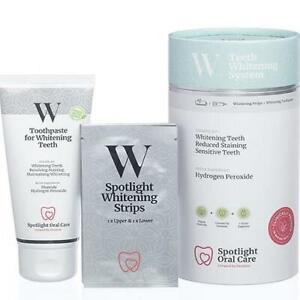 Spotlight Teeth Whitening Strip Kit With Toothpaste