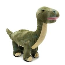 "PBC International Dinosaur Plush 19"" Record Play Talking Walking Brontosaurus"