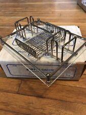 Vintage Oneida Silverplate Flatware Buffet Caddy / Silverware Storage