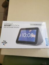 Lenovo Smart Clock with Google Assistant Brand New Sealed!