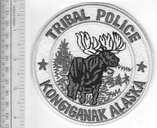 American Indian Tribe Police Alaska Kongiganak Community Police Department grey