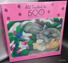 All Tucked In Cat 500 Pc Jigsaw Puzzle F.X./FX Schmid Jamie Perry