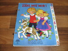 FELICITAS KUHN (Illustration) -- ZÄHL mit MIR // Zahlen lernen // ca 1960er