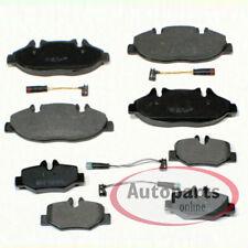 Ate original 13.0460-4826.2 discos de zapatas guarnición brake pads delante