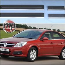 Vauxhall Vectra 02> Silver Stainless Steel Kick Plate Door Sill Protectors K168s
