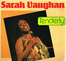 "SARAH VAUGHAN Tenderly 12"" Stereo LP 1984 GERMANY Astan 20070 @A/B Press@ EXCLT"