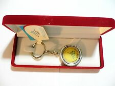 2006 WINTER OLYMPIC GAMES Torino Italy ORIGINAL Spinner Keychain Logo with case