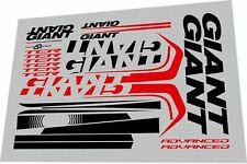 Giant Tcr Advanced 2013 Frame Sticker / Decal Set