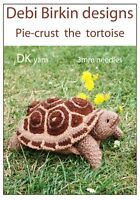 TORTOISE toy knitting pattern turtle