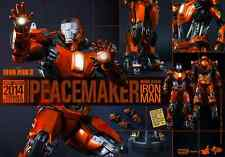Iron Man Mark XXXVI Peacemaker Hot Toys MMS 258 Summer Exclusive Version