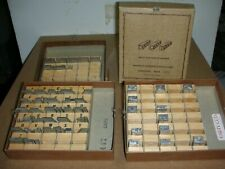 3 boxes of Franklin Dura Cast Hot Stamping type