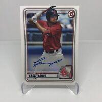 2020 Bowman Chrome PEDRO CASTELLANOS Auto RC Autograph Rookie Red Sox