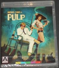 PULP blu-ray NEW SEALED gangster cult MICHAEL CAINE mickey rooney LIZABETH SCOTT