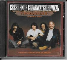 CD COMPIL 20 TITRES--CREEDENCE CLEARWATER REVIVAL--CHRONICLE - VOLUME TWO