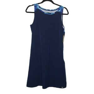 Title Nine Blue Shift Dress With Pockets NWT $85 Size Small
