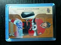 2018-19 Upper Deck Engrained Rookie Patch Auto NICE PATCH Drake Batherson 50/65