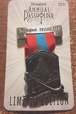 MATTERHORN BOBSLED Disneyland Passholder Medal 2017 Pin LE3000 Disney AP Badge