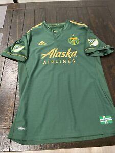 MLS Portland Timbers SEBASTIAN BLANCO Authentic Player Edition Jersey Argentina