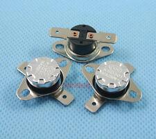 2pcs 10°C Bimetal disc thermostat KSD301 NC Normally Close