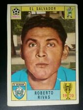 WORLD CUP PANINI MEXICO 70 ORIGINAL ROBERTO RIVAS EL SALVADOR STICKER UNUSED
