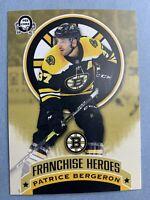 2018-19 OPC Franchise Heroes Boston Bruins Patrice Bergeron Bobby Orr