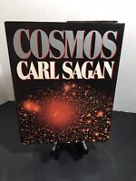 Cosmos by Carl Sagan 1980 Vintage Hardcover Book ~ 1st Edition 3rd Printing Nice