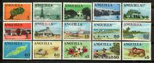 Anguilla Stamp - Definitive set of 1967-68 Stamp - NH