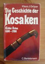 old German book Russian Cossaks In Medieval Times Kosaken