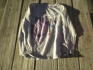 "Gap Kids ~ Girls Cat ""I'm with the Band"" Long Sleeve Shirt ~ Size 6-7"