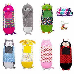 AU Happy Nappers Sleeping Bag Kids Boys Girls Play Pillow Unicorn Xmas Gifts New