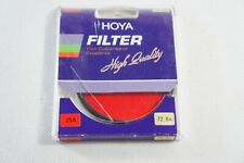 HOYA 72mm RED 25A PHOTOGRAPHIC LENS FILTER in Box, Free 2-3 Day Ship!!!
