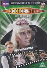 MAWDRYN UNDEAD Doctor Who DVD files 50 black guardian peter davison NEW & SEALED