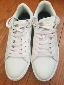 Roberto Cavalli Sports Men Sneakers Shoes Size 10.5 Fashion White Comfortable