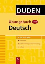 Duden Übungsbuch extra - Deutsch 5.-10. Klasse  Grammatik - Rechtschreibung ...