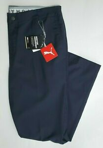 NEW $110 PUMA DRYCELL 38x30 Mens Houndstooth Wool Blend Performance Golf Pants