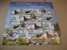PITCAIRN ISLAND   2007 WWF - Sea Birds   FULL SHEET
