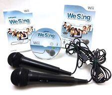 🎤 Nintendo Wii Spiel • We Sing inkl. 2 Mikrofone 🎤