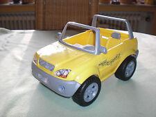 Barbie Geländewagen California Girl - SUV Cabrio gelb - Barbieauto Auto