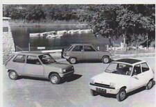 carte postale - RENAULT 5 DE 1975 - 10X15 CM