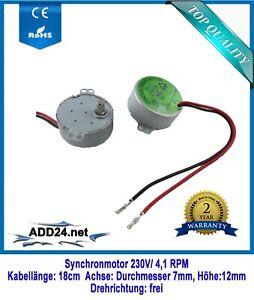 Synchronmotor, Pyramidenmotor, AC Motor 230V (4,1 u. 15 RPM)