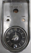 1959-1962 Corvette C2 Dash Center Clock Bezel With Clock OEM