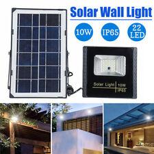 10W 22 LED Solar Power Flood Spot Light Outdoor Garden Waterproof Yard Lawn Lamp