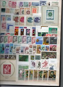 YUGOSLAVIA STAMP COLLECTION 1966-1984-500 EURO CATALOGUE-MNH